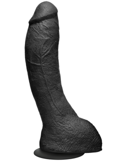Kink The Perfect P-Spot Cock 9 inches Black Dildo