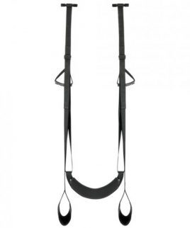 Easy Toys Door Jam Sex Sling Black