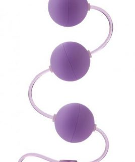First Time Love Balls Triple Lover Perfectly Weighted For The Beginner - Purple