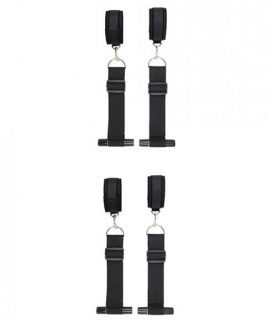 Ouch Door Restraint Kit Black