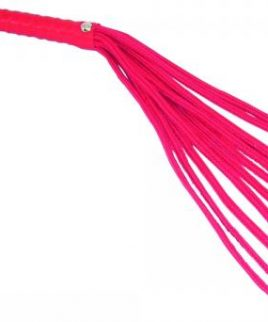 Sex & Mischief Red Rope Flogger