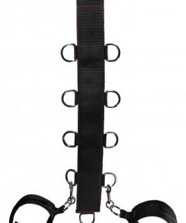 Manbound Neck & Wrist Restraint Black