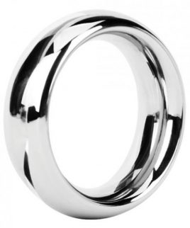 Malesation Nickel Free Steel Rounded Ring 38mm