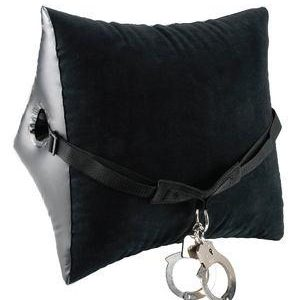 Fetish Fantasy Deluxe Position Master with Cuffs Black